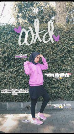 Ootd Hijab, Casual Hijab Outfit, Sports Hijab, New Hijab, Jogging Outfit, Hijab Fashion Inspiration, Hijab Tutorial, Beautiful Hijab, Sport Outfits