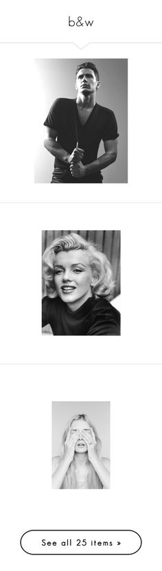 """""""b&w"""" by gb041112 ❤ liked on Polyvore featuring james franco, home, home decor, wall art, people, celebrities by name, entertainment, m, marilyn monroe and photography wall art"""