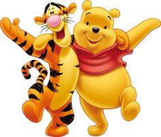 Tigrou et Winnie l'ourson