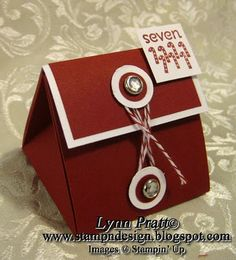 Stamp-n-Design: Exploding Triangle Gift Box
