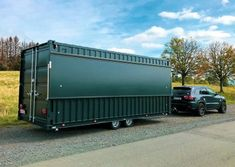 Iso Container, Container Shop, Shipping Container Cafe, Container Restaurant, Mobile Food Trucks, Container Architecture, Car Trailer, Food Containers, Deck