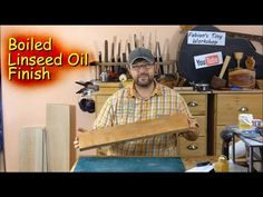 How to apply a Boiled Linseed Oil Finish - YouTube