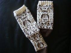 Ravelry: Owlchick's Owl Socks