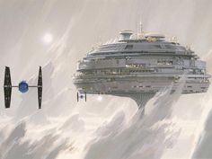 """I didn't have to limit myself."" – Ralph McQuarrie 