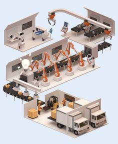 MIT Technology Review - Michiel van den Berg - 3D design & illustration
