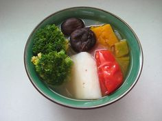Five color vegetable soup 五色蔬菜湯