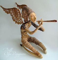 The serene angel • Dolls Collection by Olga Popugaeva on Kolektado