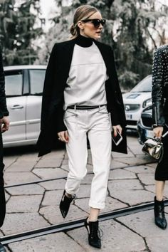 Olivia Palermo wearing Perverse Dawn Patrol Sunglasses and Givenchy Cut Out Ankle Boots