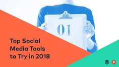 20 Top Social Media Tools to Try in 2018 Top Social Media, Social Media Marketing Business, Digital Marketing Strategy, Facebook Marketing, Marketing Tools, Content Marketing, Marketing News, Business Entrepreneur, Social Media Measurement