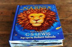 Robert Sabuda pop up books. Maybe we're old enough now that we won't tear them up.....