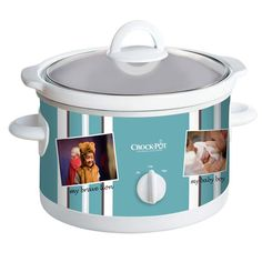 Crock-Pot® #CreateACrock: The customizable slow cooker that takes your creativity to new heights. Choose your favorite and enter the Crock-Pot® Pinterest Contest for a chance to win! More information can be found at: https://www.facebook.com/CrockPot/app_426420274088056