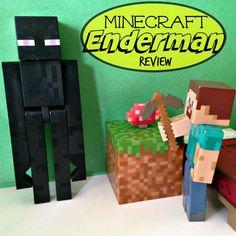 Minecraft Overworld Enderman Review - Series #1