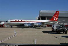 Boeing 707-138B, Jett Clipper Johny, N707JT, cn 18740/388, first flight 29.7.1964 (Qantas Airways), Jett Clipper delivered 20.5.1998. Foto: Sydney, Australia, 12.7.2002.