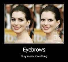 Funny pictures about Why we have eyebrows. Oh, and cool pics about Why we have eyebrows. Also, Why we have eyebrows photos. Can't Stop Laughing, Laughing So Hard, I Love To Laugh, Make Me Smile, Mascara Hacks, Demotivational Posters, Haha Funny, Funny Stuff, Funny Things