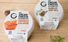 Branding and package design for ZEN, a manufacturer of dairy-free soy products. Two Lines of packages were designed: cream cheese alternatives and dairy-free desserts. Designed at Yotam Bezalel studio.
