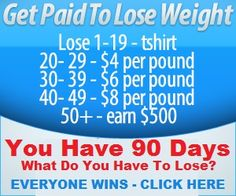 Paid to Lose Weight? Yes it's true!