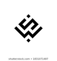 Initials Logo, Monogram Logo, Typography Logo, Art Logo, Three Logo, S Logo Design, W Logos, Clothing Logo, Graphic Design Templates