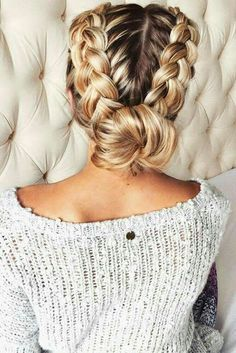 Fabulous Updo – Braided Updo, Messy Updo, Low Chignon Updo, Sleek Updo, Etc dutch braid updo Related Braided Hairstyles Everyone Is Going to Be Wearing in 2019 Modern Side Braid Hairstyles for Women Cute Hairstyles For Teens, Teen Hairstyles, Pretty Hairstyles, Active Hairstyles, Athletic Hairstyles, Cute Everyday Hairstyles, Cute Simple Hairstyles, Woman Hairstyles, Spring Hairstyles