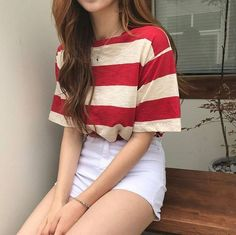 koreanische mode-outfits 632 - Source by emmakouseha Summer fashion Mode Outfits, Girl Outfits, Grunge Outfits, Teenager Mode, Mode Ulzzang, Mode Grunge, Grunge Style, Korean Fashion Trends, Korean Casual Fashion