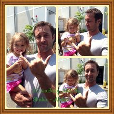 @Amanda Snelson irjef shares an awesomely ADORABLE pic of his daughter and #AlexOLoughlin