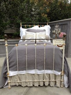 Antique Iron Bed Twin Size by FullBloomCottage on Etsy, $1295.00