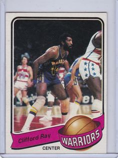 1979-1980 topps #72 clifford ray: free shipping!!! from $0.5