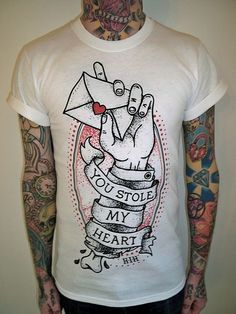 Camiseta tattoo #TEE