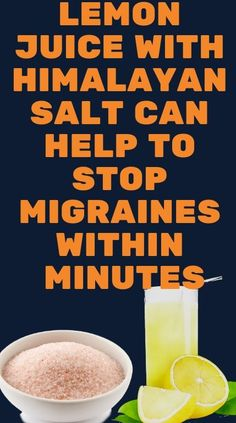 Much of the time, headaches are an indication of a lack in some mineral in the body. They can likewise be brought about by dehydration of the body or even certain foods we devour. Himalayan Salt, Homeopathy, Migraine, Healthy Recipes, Healthy Eats, Health Problems, Health Remedies, Natural Health, Health Tips