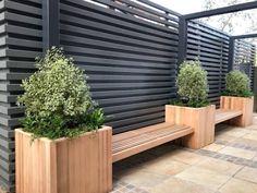 Urban Garden Design, Back Garden Design, Back Garden Ideas, Backyard Patio Designs, Small Backyard Landscaping, Backyard Ideas, Small Garden Landscape, Landscape Design, Small Courtyard Gardens