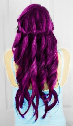 Or maybe ill dye it this color instead #pinkishpurple #hair