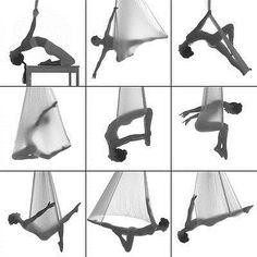 Yoga Props 179809: 2000Lb Elastic Flying Yoga Parachute Swing Hammock Inversion Strap -> BUY IT NOW ONLY: $63.95 on eBay!