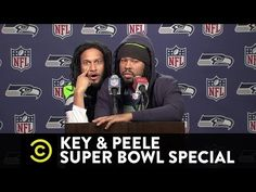 Jessie Spencer's Music Blog: Key & Peele Super Bowl Special - Marshawn Lynch and Richard Sherman's Joint Press Conference