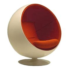 Eero Aarnio is a Finnish interior designer, well known for his innovative furniture designs in the 1960s, notably his plastic and fibreglass chairs. Aarnio studied at the Institute of Industrial Arts in Helsinki, and started his own office in 1962.