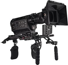 RED ONE Digital Cinema Camera on The Clutch Shoulder Rig