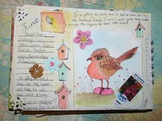 another garden journal entry by art by kim :)