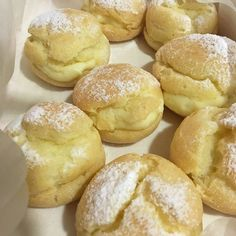 Homemade Cream Puffs.. Really nice and easy to make! #vyvykitchen #nofilters by vyvylum