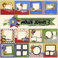 TMWPOE: Mouse Scraps 3 - Quick Album