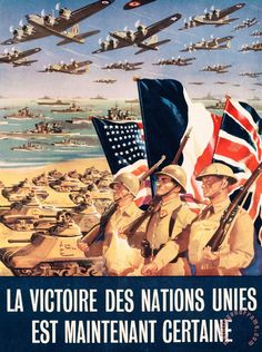 French Poster Published In Algeria,1943.