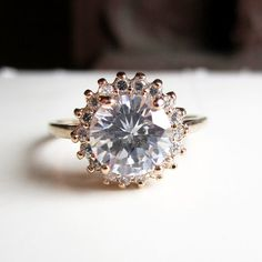 vintage engagement ring. isn't necessarily what i would want, but I would take it!