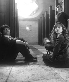 harry potter, hermione granger, and ron weasley Bild🍕⚡💫 Harry James Potter, Harry Potter Hermione, Hermione Granger, Mundo Harry Potter, Ron And Hermione, Harry Potter Pictures, Ginny Weasley, Harry Potter Universal, Harry Potter Characters