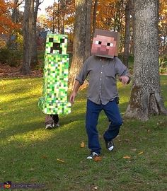 Creeper - Halloween Costume Contest via @costumeworks