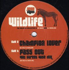 "The Wildlife Collective - Champion Lover / Pass Out 12"" JC005 Jungle Cakes"