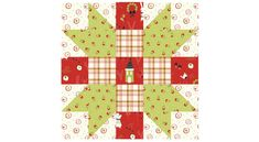 Nancy Zieman The Blog - July 2021 NZP Block of the Month: Sister's Choice Quilt Block Patterns, Pattern Blocks, Quilt Blocks, Merry Little Christmas, Christmas In July, Christmas Berries, Nancy Zieman, Half Square Triangles, Block Of The Month