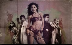 Grindhouse - Planet Terror by TheGiantPanda on DeviantArt Rose Mcgowan, Bruce Willis, Quentin Tarantino, Experiment, Freddy Rodriguez, Terror Movies, Death Proof, Best Facebook Cover Photos, Movie Blog