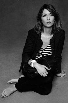 Sofia Coppola dans le livre La Petite Veste Noire de Chanel