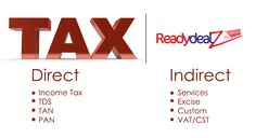 Update your information on Indian Taxes at Ready Deals.