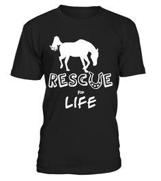 Rescue Horse Unique Shirt  Funny Rescues T-shirt, Best Rescues T-shirt