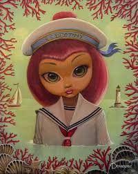 """Bob Doucette-""""Destina"""" - Limited Edition- 16""""x 20""""- Canvas Giclee Prints"""