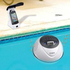 Ion Water Rocker für iPhone und iPod - der coole Wasserlautsprecher