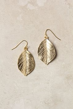 Ralph lauren designed ones very similar to these in a dusted cold with a smaller leaf on top